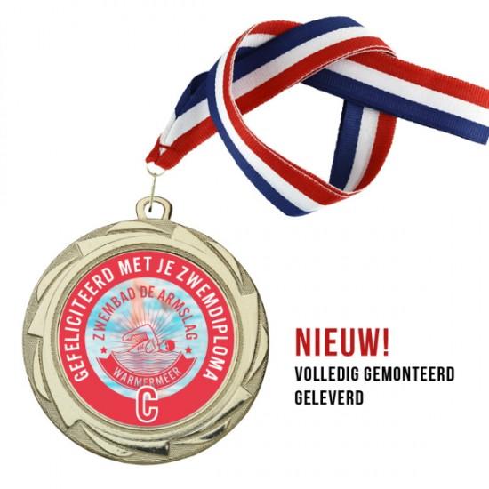 Medaille ECM6006 70mm 10st